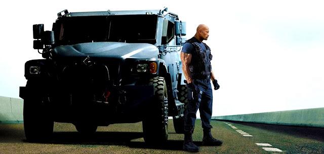 Dwayne Johnson în rolul Luke Hobbs din Fast & Furious