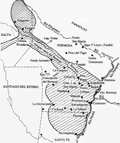 Resultado de imagen para campaña al Chaco contra los indios