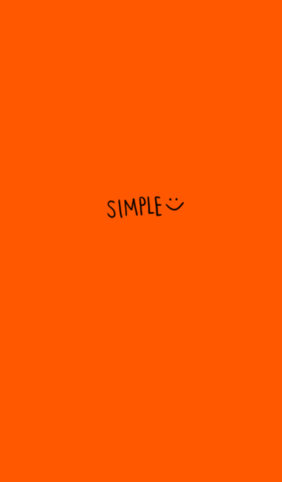Be absorbed, simple. Orange ver