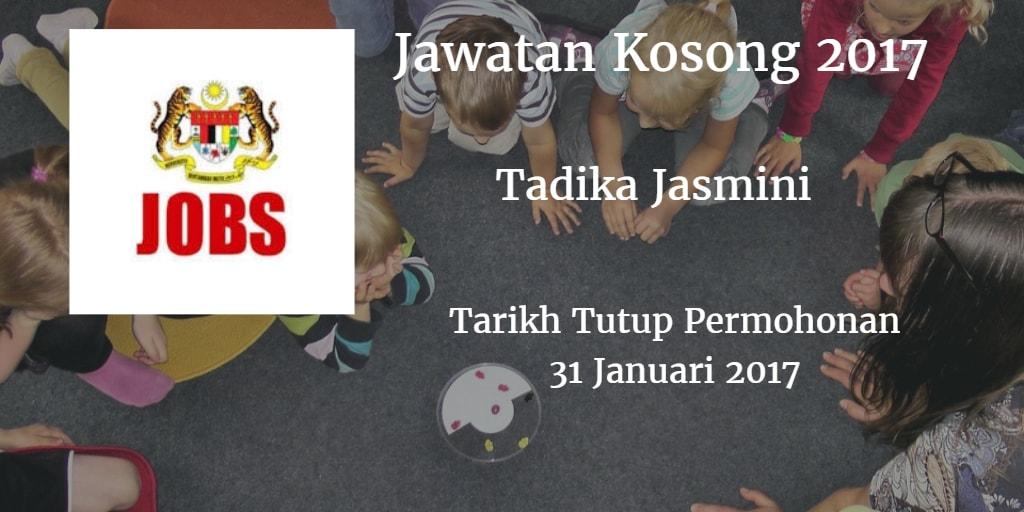 Jawatan Kosong Tadika Jasmini 31 Januari 2017