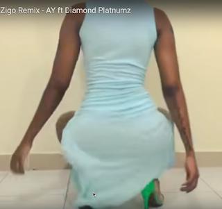 Huddah dancing Zigo Remix.