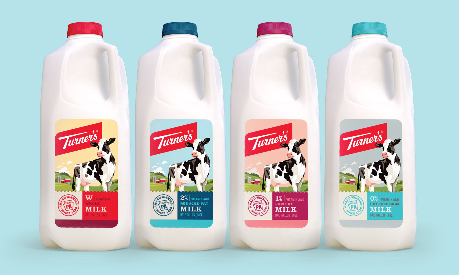 Turner S Dairy On Packaging Of The World Creative