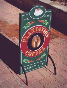 placa para café