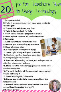 20 Tips for Teachers New to Using Technology
