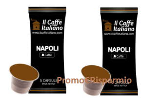 Logo Promo special Pack: 200 capsule caffè Napoli + 100 capsule Venezia in omaggio