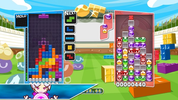 Puyo Puyo Tetris PC Game