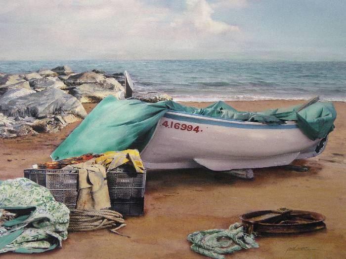 Испанский художник. Iban Navarro