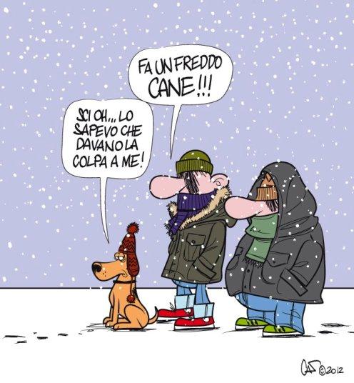 frasi buongiorno neve
