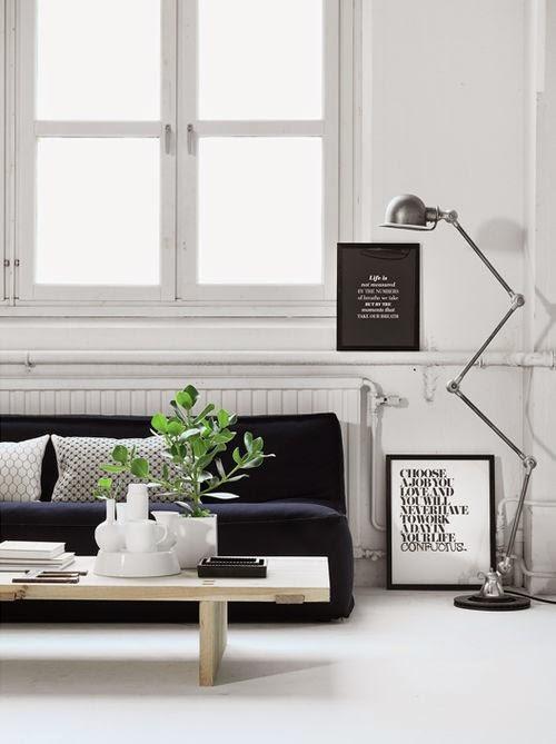25 ideas de decoraci n de salas que poner al lado del sofa for Maceteros para salon