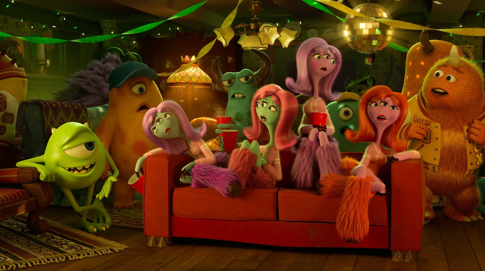 Join a monster of a party with the Disney Movies Anywhere premiere of PARTY CENTRAL. The Disney•Pixar short is now available to view for free for the first time, and reunites everyone's favorite monsters, Mike and Sulley, for another hilarious adventure.