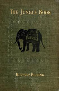 Portada del libro El Libro de la Selva del año 1910