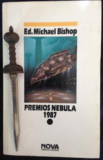 Portada del libro Premios Nebula 1987, de varios autores