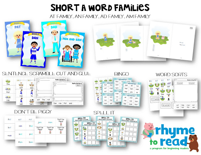 https://www.teacherspayteachers.com/Product/Guided-Reading-Books-Activities-Rhyme-to-Read-Short-Vowel-Bundle-2574491