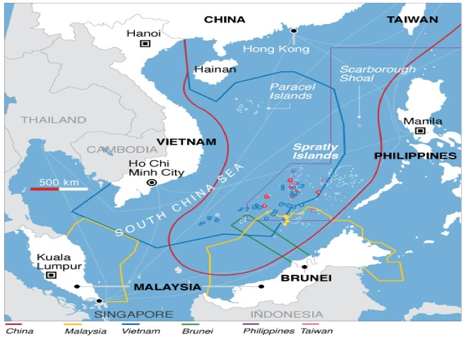 the importance and the issue of island and maritime claims of the south china sea The maritime disputes in the south china sea have recently grown more complex and heated, given the issues at hand, the number of countries involved, and unwillingness among these countries to genuinely cooperate with each other to find peaceful solutions to their problems.