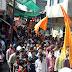 हिन्दु नववर्ष  गुडी पड़वा पर्व का नालछा में हुआ भव्य आयोजन ।पद यात्रा में मुस्लिम समुदाय ने भी किया स्वागत