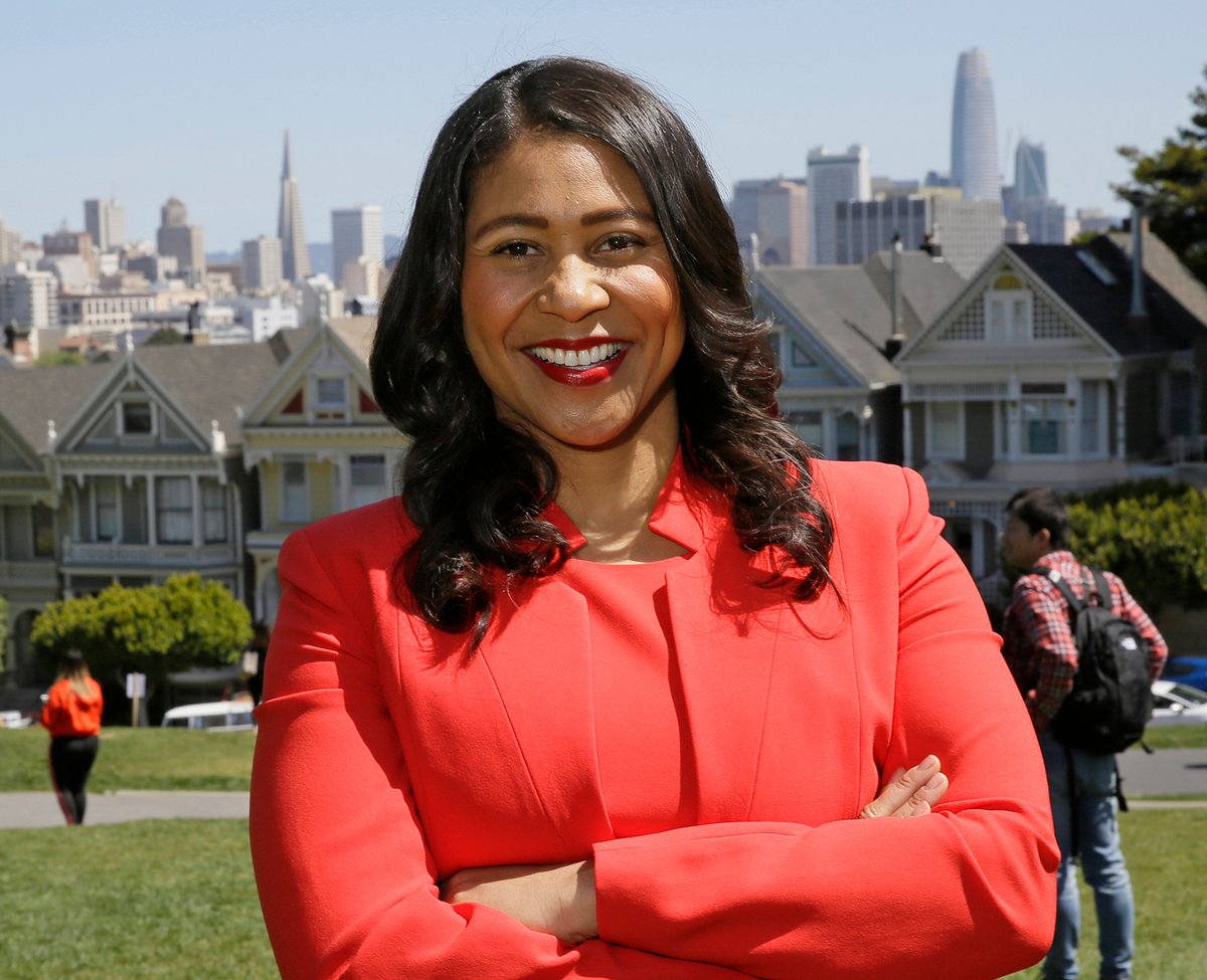 London Breed likely to be San Francisco new mayor, becomes first black woman mayor of San Francisco