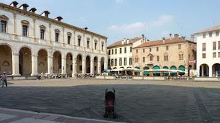 Piazza del Duomo, Padova.