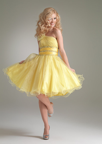 Best Short Prom Dresses Collection 2013