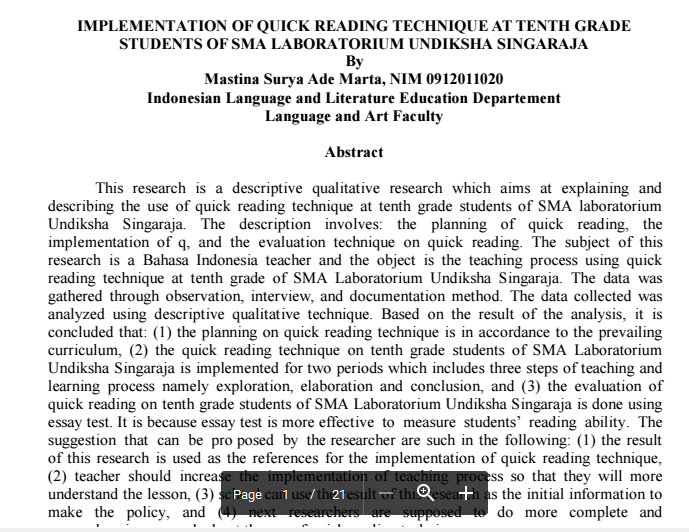 reading techniques essay Many techniques can accomplish this goal of writing diction, organization, description, and titles are all key parts of an essay that combine the author's thoughts and teelings in an effective manner.