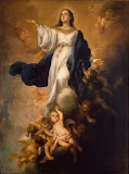 Walpole Immaculate Conception by Bartolome Esteban Murillo - Christianity Paintings from Hermitage Museum