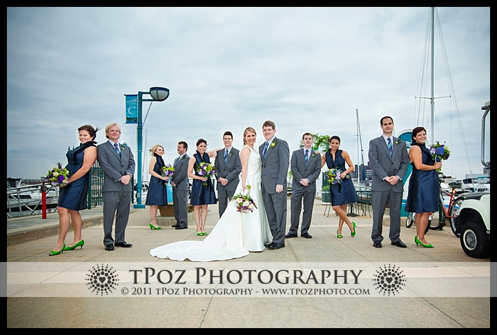 Tabrizi's Baltimore Bridal Party Wedding Photo