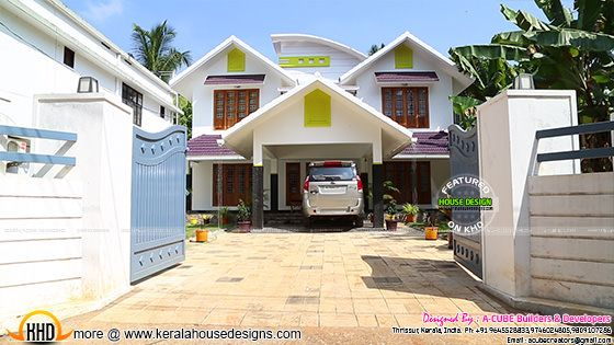 Work finished houe at Thrissur, Kerala