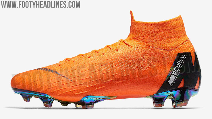 02e5f385bff6 Nike Mercurial Superfly VI - Total Orange   Black   Total Orange   Volt