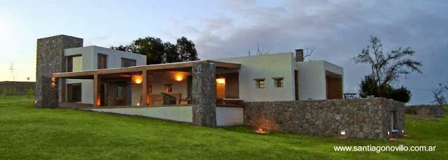 Casa contemporánea en el campo Ascochinga Córdoba Argentina