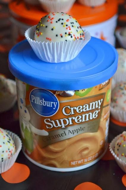 For The Love Of Dessert Caramel Apple Cake Balls Pops