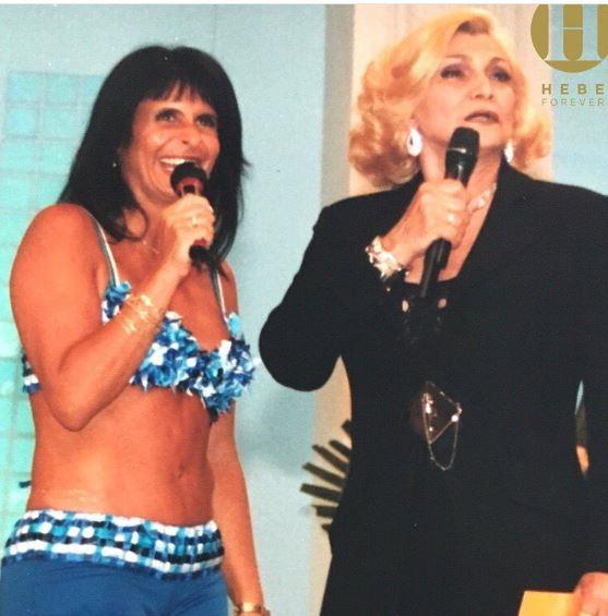 Anos 90 : Gretchen e Hebe Camargo