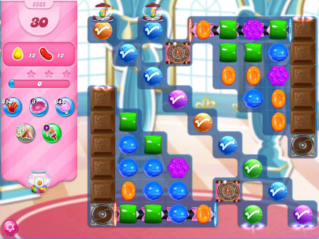 Candy Crush Saga level 3262