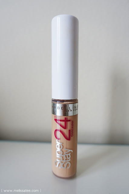 maybelline, maybelline super stay 24 hour concealer, maybelline super stay 24 hour concealer review, maybelline concealer, maybelline concealer review