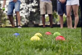 Play Bocce Ball at your next Summer Campfire