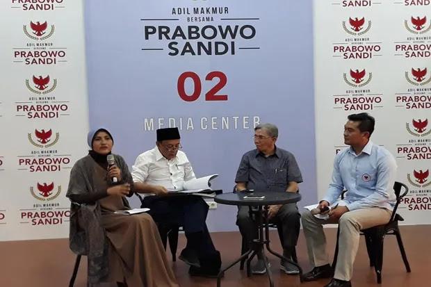 Kubu Prabowo-Sandi Beberkan Penyebab Defisit Neraca Perdagangan