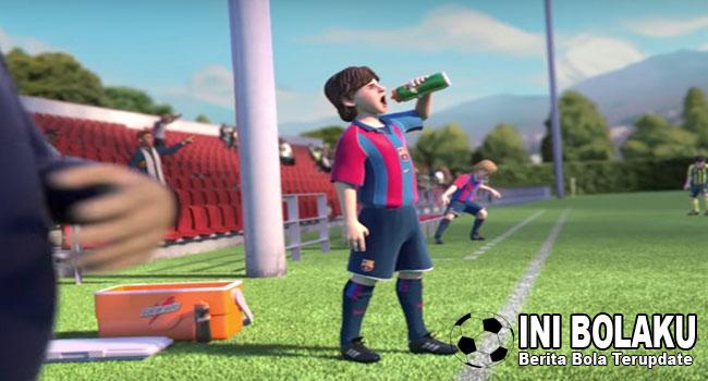 Heart of a Lio, Ketika Lionel Messi Digambarkan Secara Kartun