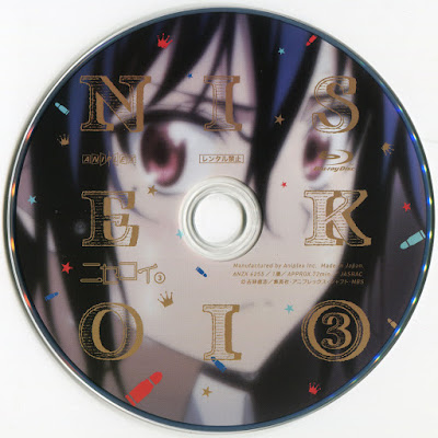 Label Bluray Nisekoi Disc 3