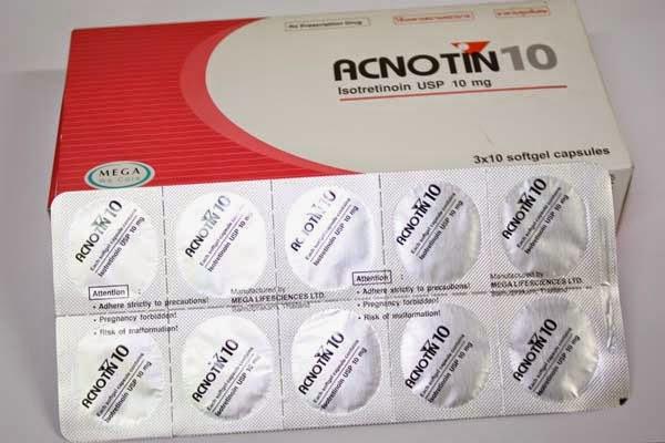acnotin 10 ยากินรักษาสิว