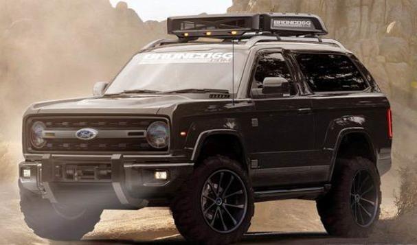 2018 Ford Bronco MSRP