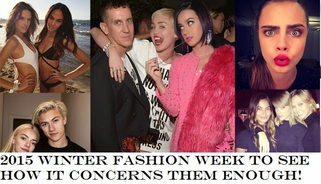 2015 Winter Fashion Week to see how it concerns them enough!