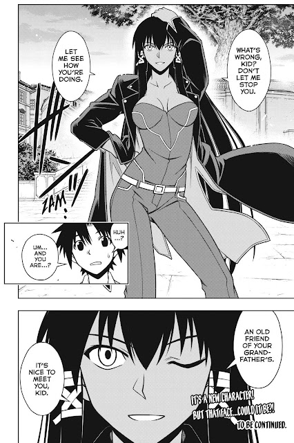 took me awhile to get to catching up UQ Holder, I must admit