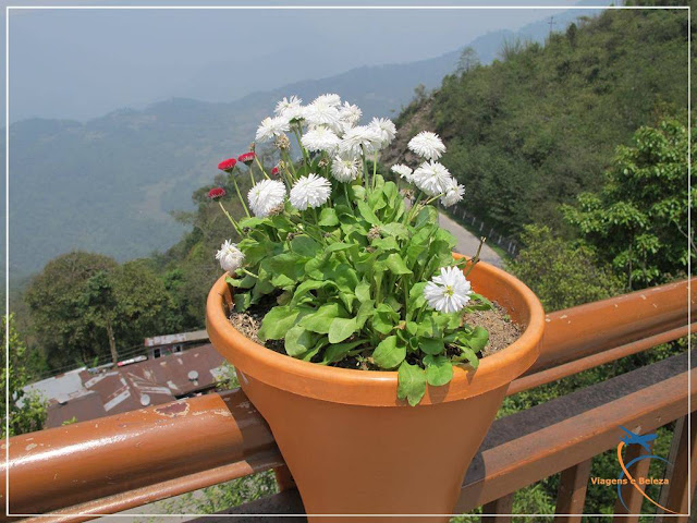 Tashi View Point em Gangtok, Sikkim, Índia