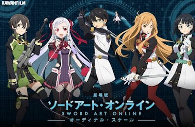 Sword Art Online: The Movie Ordinal Scale (2017) Bluray Subtitle Indonesia
