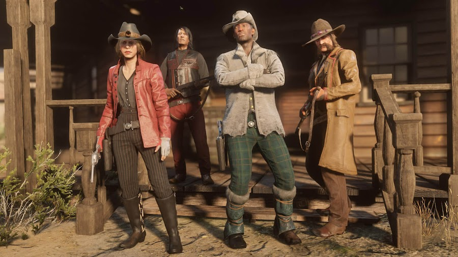 red dead online beta update clothes emotes ps4 early access
