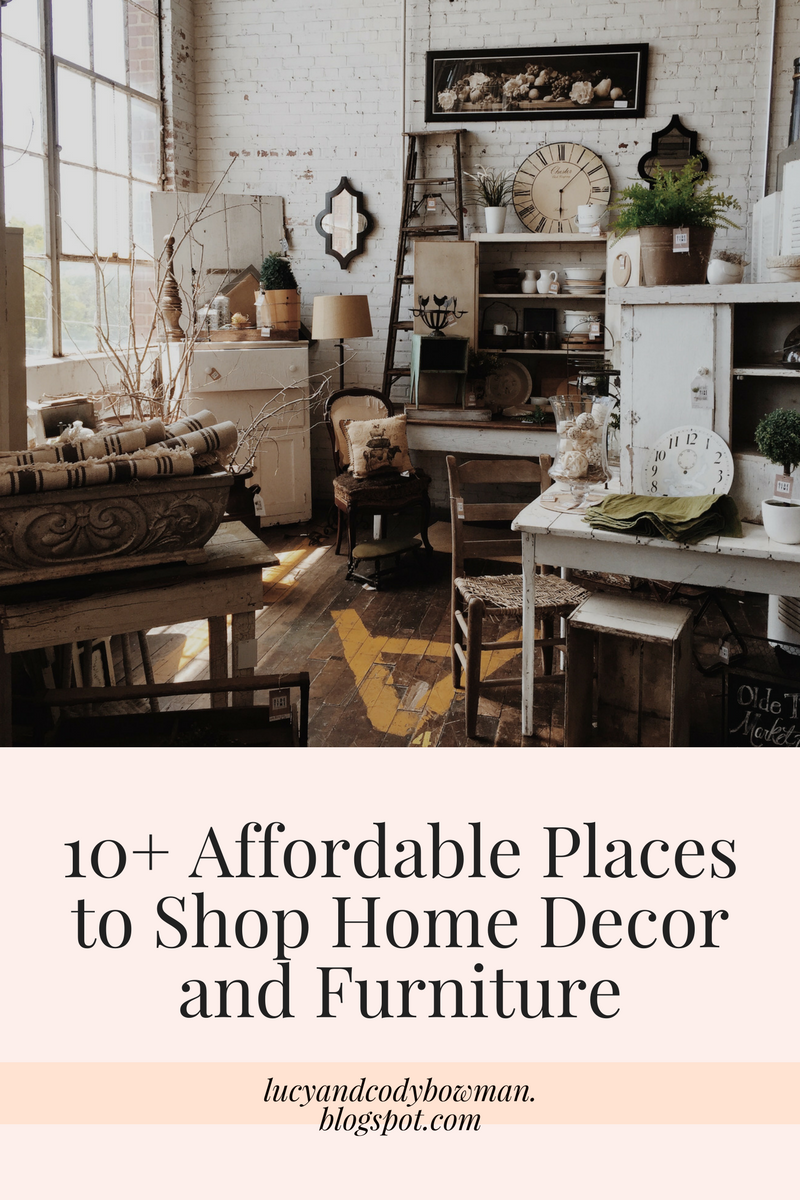 Exceptionnel 10+ Affordable Places To Shop Home Decor And Furniture
