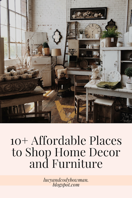 10 affordable places to shop for home decor and furniture lucy jo