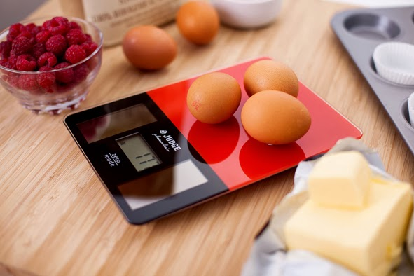 Solar Powered Kitchen Scales