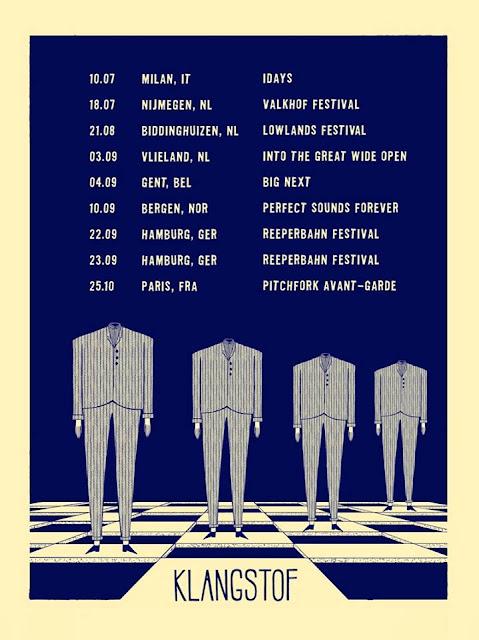 Klangstof European Tour Dates