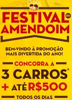 Cadastrar Promoção Festival do Amendoim 2017