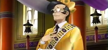 Ace Attorney 6 Gaspen Payne prosecutor royal crown