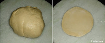 dough to make paratha